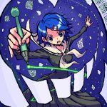 lowres maria-sama_ga_miteru oekaki paper pen shirono yamaguchi_mami