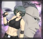 ein_(phantom) houtengeki knife midriff nitroplus phantom_of_inferno requiem_for_the_phantom scythe_master short_hair sports_bra