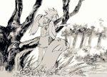 1boy 1girl child chinese_clothes cousins dratini flower ibuki_(pokemon) long_hair petting pokemon pokemon_(creature) pokemon_(game) pokemon_rgby pokemon_special ponytail seirakun3 short_hair smile spiky_hair tree turtleneck wataru_(pokemon) younger