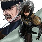 chokuto cigarette male metal_gear_solid raiden solid_snake sword weapon