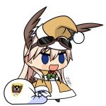 1girl afrika_korps bag commentary commentary_request gift_bag graphite_(medium) hanna-justina_marseille holly mechanical_pencil parody pencil santa_costume solo strike_witches traditional_media world_witches_series yellow_santa_costume zero_(73ro)