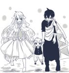 august_dragneel blonde_hair fairy_tail family father female hair long male mavis_vermillion mother son zeref_dragneel