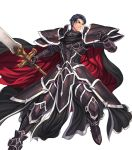 1boy armor black_knight fire_emblem fire_emblem:_akatsuki_no_megami fire_emblem_heroes full_body highres male_focus official_art short_hair solo spoilers transparent_background zelgius