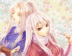 blue_(saga_frontier) breasts commentary_request long_hair multiple_girls rouge_(saga_frontier) saga saga_frontier shiu_(shiucream) siblings twins