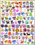 aipom ampharos ariados azumarill bayleef bear bellossom bird blissey blonde_hair blue_eyes blue_skin border celebi chikorita chinchou cleffa clenched_hand commentary corsola crescent crobat croconaw cyndaquil delibird dog donphan dunsparce elekid entei espeon everyone fangs feraligatr fiery_tail fire flaaffy flaming_hair flower forretress furret girafarig gligar glitchedpuppet granbull gray_border green_skin grin hair_flower hair_ornament hands_up heracross highres hitmontop ho-oh hoothoot hoppip horns houndoom houndour igglybuff jumpluff kingdra lanturn larvitar ledian ledyba looking_at_viewer looking_away lugia magby magcargo mantine mareep marill meganium miltank misdreavus monkey murkrow natu no_humans noctowl octillery orange_border orange_eyes outstretched_arms paint phanpy pichu piloswine pineco pink_skin pokemon pokemon_(creature) pokemon_(game) pokemon_gsc politoed porygon2 pupitar purple_hair quagsire quilava qwilfish raikou remoraid scizor sentret shuckle simple_background skarmory skiploom slowking slugma smeargle smile smoochum sneasel snubbull spider spinarak stantler steelix sudowoodo suicune sunflora sunkern swinub teddiursa togepi togetic totodile tusks typhlosion tyranitar tyrogue umbreon unown upside-down ursaring white_background wobbuffet wooper xatu yanma
