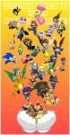 absurdres animal ape beard bird blonde_hair blue_eyes brown_hair captain_falcon charizard chibi donkey_kong donkey_kong_(series) dress f-zero facial_hair falco_lombardi fire_emblem fire_emblem:_monshou_no_nazo fire_emblem:_souen_no_kiseki fox_mccloud furry ganondorf gloves hat headband highres ice_climber ice_climbers ike jewelry jigglypuff kid_icarus king_dedede kirby kirby_(series) link long_hair lucario lucas luigi mario mario_(series) marth mask master_hand meta_knight metal_gear_(series) metal_gear_solid metroid mother_(game) mother_2 mother_3 mr._game_&_watch multiple_boys multiple_girls mustache nana_(ice_climber) ness olimar pikachu pikmin_(creature) pit_(kid_icarus) pointy_ears pokemon pokemon_(creature) pokemon_(game) ponytail popo_(ice_climber) princess_peach princess_zelda r.o.b redhead samus_aran smile solid_snake sonic sonic_the_hedgehog squirtle star_fox super_mario_bros. super_smash_bros. sword the_legend_of_zelda the_legend_of_zelda:_the_wind_waker the_legend_of_zelda:_twilight_princess tiara toon_link umbrella wario warioware weapon wings yoshi