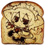 angeltype animal_ears bread dog_ears dog_tail food food_art inu_sakuya izayoi_sakuya lowres tail the_bread_art_project touhou