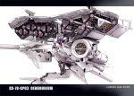 dendrobium_schema gp-03 gundam gundam_0083 gundam_gp-03_stamen mecha solo