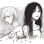 2girls annie_leonhardt long_hair looking_at_viewer lowres multiple_girls pieck shingeki_no_kyojin short_hair smile