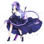 dress long_hair purple_eyes purple_heart violet_hair