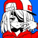 adorable bad_ass cap cute eyepatch gloves mask nyanafk original red_sweater swag