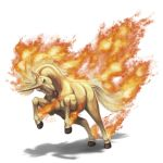 2016 brown_eyes fiery_tail fire flaming_hair looking_at_viewer no_humans pokemon pokemon_(creature) pokemon_(game) pokemon_rgby rapidash shadeofshinon signature solo transparent_background unicorn