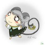 animal_ears hamtaro mouse mouse_ears nazrin touhou y.w_(pixiv)