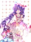 bad_id braid highres kasuga_sunao patchouli_knowledge touhou