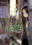 long_hair original plant scarf stairs toi8