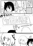 comic commentary_request gomihitosi greyscale highres kuroki_tomoko messy_hair monochrome translation_request ucchi_(watamote) watashi_ga_motenai_no_wa_dou_kangaetemo_omaera_ga_warui! |_|