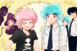 blue_hair family father father_and_son female jigoku_sensei_nube male mother mother_and_son nueno_meisuke yukime