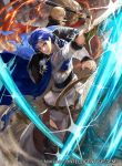 armor blonde_hair blue_hair cape fire_emblem fire_emblem:_seisen_no_keifu fire_emblem_cipher headband male_focus mayo_(becky2006) official_art short_hair sigurd_(fire_emblem) sword weapon