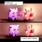 clefable creature english gen_1_pokemon gengar ghost highres pokemon_(creature) sa-dui