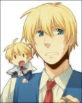 blonde_hair blue_eyes genderswap male rex rex_k shanghai shanghai_doll short_hair touhou