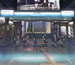 amaneko fare_gate photorealistic real_world_location realistic ryouma_(galley) scenery stairs train_station