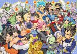 5girls 6+boys :d ;d android_18 animal annoyed armor ayo_(isy8800) back_turned beerus black_eyes black_hair blonde_hair blue_background blue_eyes blue_hair broly brothers bulma cape cat champa_(dragon_ball) chi-chi_(dragon_ball) closed_eyes commentary_request couple crossed_arms dende dougi dragon_ball dragon_ball_(object) dragon_ball_super dragonball_z dress earrings egyptian_clothes expressionless eyebrows_visible_through_hair father_and_daughter father_and_son fingernails flower food frieza frown glasses gloves gokuu_black golden_frieza heart ice_cream index_finger_raised jewelry kaioushin karin_(dragon_ball) kerchief kuririn long_hair long_sleeves looking_at_another looking_away looking_back marron mister_popo mohawk mother_and_daughter mother_and_son multiple_boys multiple_girls nervous one_eye_closed open_mouth paragus piccolo pink_flower pink_hair pointy_ears potara_earrings purple_hair raditz red_eyes rose serious short_hair siblings simple_background smile son_gohan son_gokuu son_goten sparkle spiky_hair spoon super_saiyan_blue super_saiyan_rose sweatdrop sword trunks turban v vados_(dragon_ball) vegeta vegetto very_long_hair weapon whis white_background white_hair wristband zamasu