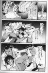 absurdres comic dice feet greyscale hands highres itou_kaiji kaiji monochrome scan warugaki_(sk-ii)