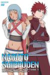 1boy 1girl cover dvd_case dvd_cover friends fuu_(naruto) gaara gyaru highres jinchuuriki naruto naruto_shippuuden official_art
