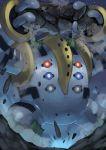 extra_eyes gen_4_pokemon highres legendary_pokemon no_humans pokemon pokemon_(creature) regigigas tesshii_(riza4828)