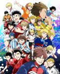alan_pascal black_eyes blonde_hair blue_eyes blue_hair brian_cruyfford brothers brown_hair captain_tsubasa carlos_santana cha_in-cheon chana_konsawatto deuter_muller elle_sid_pierre faran_konsawatto gino_hernandez gloves hair_over_one_eye hairlocs hermann_kaltz hiro_(minorstar) juan_diaz karl-heinz_schneider long_hair louis_napoleon luciano_leo manfred_margus mark_owairan mouth_hold natureza ramon_victorino ricardo_espadas sakun_konsawatto salvatore_gentile scar short_hair shorts shou_shunkou siblings singprasert_bunnark smile soccer_uniform sportswear stefan_levin toothpick turban