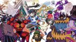 2girls 3boys backpack bag baseball_cap beanie blacephalon black_hair black_shirt blonde_hair braid brother_and_sister buzzwole capri_pants celesteela cosmog dark_skin dark_skinned_male dress from_side gen_7_pokemon gladio_(pokemon) green_eyes green_hair green_shorts guzzlord handbag hat hau_(pokemon) highres holding holding_poke_ball kartana kingin lillie_(pokemon) long_hair long_sleeves mizuki_(pokemon_sm) multiple_boys multiple_girls naganadel necrozma nihilego open_mouth pants pheromosa poipole poke_ball pokemon pokemon_(creature) pokemon_(game) pokemon_sm pokemon_usum red_hat rowlet shirt short_hair short_sleeves shorts siblings sleeveless sleeveless_dress stakataka striped striped_shirt sun_hat tied_shirt torn_clothes twin_braids ultra_beast white_dress white_hat xurkitree you_(pokemon_sm)