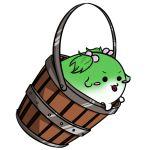 >:d :3 bucket kisume littlehizi sukusuku_hakutaku tail touhou twintails white_background