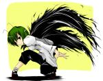 androgynous antenna antennae babel cape green_eyes green_hair reverse_trap solo touhou wriggle_nightbug