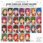 aqua_hair armor black_hair blonde_hair blue_eyes blue_hair blush brown_hair cape deen_(fire_emblem) elbow_gloves erk_(fire_emblem) fingerless_gloves fire_emblem fire_emblem:_akatsuki_no_megami fire_emblem:_fuuin_no_tsurugi fire_emblem:_rekka_no_ken fire_emblem:_seima_no_kouseki fire_emblem:_seisen_no_keifu fire_emblem:_souen_no_kiseki fire_emblem:_thracia_776 fire_emblem_heroes forde geoffrey_(fire_emblem) gloves green_eyes green_hair headband highres innes johan_(fire_emblem) kyle_(fire_emblem) long_hair looking_at_viewer multiple_boys multiple_girls noshima olwen_(fire_emblem) open_mouth pegasus_knight ponytail priscilla_(fire_emblem) purple_hair raven_(fire_emblem) redhead short_hair smile tate violet_eyes wil_(fire_emblem) zeiss