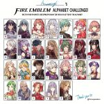 aira_(fire_emblem) ama_asagi armor bald bare_shoulders berka_(fire_emblem_if) black_hair blue_eyes blue_hair breastplate breasts camus cape celica_(fire_emblem) chiki circlet cleavage closed_eyes curly_hair dress earrings elbow_gloves ephraim fire_emblem fire_emblem:_kakusei fire_emblem:_monshou_no_nazo fire_emblem:_rekka_no_ken fire_emblem:_seima_no_kouseki fire_emblem:_seisen_no_keifu fire_emblem_echoes:_mou_hitori_no_eiyuuou fire_emblem_heroes fire_emblem_if gloves green_hair hat henry_(fire_emblem) highres ishtar_(fire_emblem) jenny_(fire_emblem) jewelry joshua_(fire_emblem) large_breasts lavender_hair leen_(fire_emblem) long_hair male_my_unit_(fire_emblem:_kakusei) mamkute misheil_(fire_emblem) multiple_girls my_unit_(fire_emblem:_kakusei) ophelia_(fire_emblem_if) pink_hair pointy_ears ponytail purple_hair redhead robe short_hair side_ponytail silver_hair smile soleil_(fire_emblem_if) tiara ursula_(fire_emblem) vanessa_(fire_emblem) very_long_hair violet_eyes yuria_(fire_emblem)