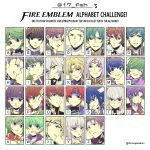alm_(fire_emblem) armor artist_request berkut_(fire_emblem) black_armor black_hair blue_armor blue_eyes blue_hair blush brown_hair cape celice_(fire_emblem) circlet ephraim fire_emblem fire_emblem:_fuuin_no_tsurugi fire_emblem:_kakusei fire_emblem:_monshou_no_nazo fire_emblem:_rekka_no_ken fire_emblem:_seima_no_kouseki fire_emblem:_seisen_no_keifu fire_emblem:_souen_no_kiseki fire_emblem_echoes:_mou_hitori_no_eiyuuou fire_emblem_heroes fire_emblem_if frederik_(fire_emblem) gloves green_eyes green_hair hairband hector_(fire_emblem) highres ike joker_(fire_emblem_if) lavender_hair long_hair looking_at_viewer lyon_(fire_emblem) mamkute marks_(fire_emblem_if) marth multiple_boys nino_(fire_emblem) open_mouth priscilla_(fire_emblem) purple_hair purple_hairband redhead roy_(fire_emblem) short_hair smile takumi_(fire_emblem_if) tiara ursula_(fire_emblem) vanessa_(fire_emblem) very_long_hair violet_eyes yuria_(fire_emblem)