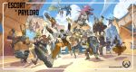 6+boys 6+girls ana_(overwatch) armor balloon bastion_(overwatch) blue_sky brigitte_(overwatch) cannon copyright_name cowboy_hat crossed_arms cup d.va_(overwatch) dark_skin doomfist_(overwatch) dual_wielding everyone firing floating flying gameplay_mechanics gas_mask genji_(overwatch) glasses gun hairlocs handgun hanzo_(overwatch) hat highres hood lifting logo lucio_(overwatch) mask mccree_(overwatch) mecha mechanical_arm mechanical_wings meditation mei_(overwatch) meka_(overwatch) mercy_(overwatch) moira_(overwatch) multiple_boys multiple_girls muscle muscular_female nesskain orisa_(overwatch) overwatch pharah_(overwatch) power_armor prosthesis prosthetic_arm reaper_(overwatch) reinhardt_(overwatch) revolver roadhog_(overwatch) robot running shield sitting sky sleeveless smile snowflakes soldier:_76_(overwatch) sombra_(overwatch) symmetra_(overwatch) tattoo teacup torbjorn_(overwatch) tracer_(overwatch) turret vehicle weapon widowmaker_(overwatch) wings winston_(overwatch) zarya_(overwatch) zenyatta_(overwatch)