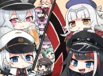 6+girls :3 :d :o admiral_hipper_(azur_lane) alcohol aqua_eyes aqua_hair ariesuzu_(ariessz) azur_lane bangs banner beer black_eyes black_gloves black_hair black_hat blonde_hair blue_eyes blue_hat blunt_bangs blush chibi closed_mouth cross cross_earrings crossed_bangs cup deutschland_(azur_lane) earrings eyebrows eyebrows_visible_through_hair eyepatch fang frown fur_collar garrison_cap gloves gneisenau_(azur_lane) goggles goggles_on_head goggles_on_headwear graf_zeppelin_(kantai_collection) grey_hair hair_between_eyes hair_ornament hairclip hand_up hat headgear holding holding_cup jewelry long_hair mole mole_under_eye multicolored_hair multiple_girls no_nose open_mouth orange_background peaked_cap pink_eyes purple_hair red-framed_eyewear redhead reichsadler scharnhorst_(azur_lane) semi-rimless_eyewear sharp_teeth short_hair silver_hair smile straight_hair swept_bangs teeth tirpitz_(azur_lane) tongue two-tone_hair under-rim_eyewear v-shaped_eyebrows violet_eyes white_gloves white_hair yellow_eyes z19_hermann_kunne_(azur_lane) z20_karl_galster_(azur_lane) z21_(azur_lane) z46_(azur_lane)