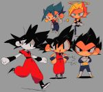 >:d 4boys :d armor black_eyes black_hair blonde_hair blue_eyes blue_hair blush_stickers boots crossed_arms dougi dragon_ball dragon_ball_super dragonball_z earrings floating frown full_body gloves gogeta green_eyes grey_background halo hand_on_hip jewelry legs_crossed looking_at_viewer looking_away male_focus multiple_boys one_leg_raised open_mouth outstretched_arms potara_earrings running serious shaded_face shadow short_hair simple_background smile son_gokuu spiky_hair spread_legs standing star super_saiyan super_saiyan_blue suzuka_g thumbs_up translation_request v-shaped_eyebrows vegeta vegetto wristband