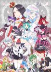6+others alice_(wonderland) alice_(wonderland)_(cosplay) alice_in_wonderland amethyst_(houseki_no_kuni) antarcticite bort caterpillar_(wonderland) caterpillar_(wonderland)_(cosplay) cheshire_cat cheshire_cat_(cosplay) cosplay diamond_(houseki_no_kuni) dormouse euclase_(houseki_no_kuni) highres houseki_no_kuni jade_(houseki_no_kuni) kemonomimi_mode mad_hatter mad_hatter_(cosplay) march_hare march_hare_(cosplay) multiple_others nightcat phosphophyllite queen_of_hearts queen_of_hearts_(cosplay) rutile_(houseki_no_kuni) shinsha_(houseki_no_kuni) title_parody watermark white_queen white_queen_(cosplay) white_rabbit white_rabbit_(cosplay) yellow_diamond_(houseki_no_kuni)