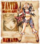 akimbo cowboy_hat dual_wield dual_wielding gun handgun hat holster pistol revolver thigh_strap vest weapon western