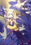 bug butterfly butterfly_wings elsword eve_(elsword) facial_mark flower insect pika_(kai9464) tagme wings