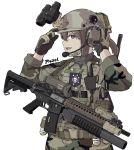 40mm_grenade alma01 assault_rifle camouflage fang grenade_launcher gun laser_sight load_bearing_vest m203 m4_carbine marine_corps military night_vision_device original rifle underbarrel_grenade_launcher weapon
