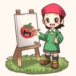 absurdres adeleine highres kirby_(series) maxim_tomato painting