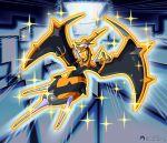 absurdres alternate_color claws dragon gen_7_pokemon highres inkblot monster naganadel pokemon pokemon_(anime) pokemon_(game) pokemon_sm pokemon_sm_(anime) shiny_pokemon stinger ultra_beast wings