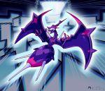 absurdres claws dragon gen_7_pokemon highres inkblot monster naganadel pokemon pokemon_(anime) pokemon_(game) pokemon_sm pokemon_sm_(anime) stinger ultra_beast wings