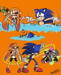 1boy 1girl aori_(splatoon) asphyxiation chili_dog drowning hotaru_(splatoon) inkling sonic sonic_the_hedgehog splatoon tentacle_hair