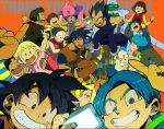 6+boys 6+girls ^_^ alcohol android_18 animal annoyed arms_up artist_name baby bee_(dragon_ball) beer black_hair blanket blonde_hair blue_background blue_eyes blue_hair blush blush_stickers bottle bra_(dragon_ball) bracelet brothers bulma cape cellphone chi-chi_(dragon_ball) clenched_hands closed_eyes closed_eyes copyright_name couple dog dougi dragon_ball dragon_ball_super dragonball_z dress drinking drunk embarrassed english eyebrows_visible_through_hair eyelashes facial_hair father_and_daughter father_and_son fingernails glass gloves grandfather_and_granddaughter hairband happy hetero index_finger_raised jewelry kuririn long_sleeves looking_at_another looking_at_viewer looking_away majin_buu marron milk mother_and_daughter mother_and_son mr._satan multiple_boys multiple_girls mustache neckerchief pan_(dragon_ball) pants phone piccolo pink_shirt pointy_ears pov profile red_background red_dress red_hairband saliva shirt short_hair siblings simple_background sleeping sleeveless sleeveless_dress smartphone smile son_gohan son_gokuu son_goten spiky_hair sweatdrop sweater_vest teeth text_focus tied_hair trunks_(dragon_ball) turban v vegeta videl white_shirt wristband yellow_background