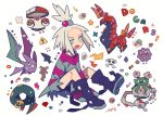 amoonguss auko creatures_(company) crobat game_freak garbodor gen_1_pokemon gen_2_pokemon gen_3_pokemon gen_5_pokemon homika_(pokemon) koffing nintendo pokemon pokemon_(creature) pokemon_(game) pokemon_bw2 scolipede seviper tagme
