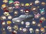 :d animal_ears beatrice black_hair blonde_hair blue_hair brown_hair car chibi closed_eyes dress eva_beatrice everyone formal frederica_bernkastel gohda_toshiro gouda_toshirou green_hair hair_bobbles hair_ornament hat jacket kanon_(character) kanon_(umineko) kashiwa_kiseri lambdadelta mercedes_benz monocle motor_vehicle necktie open_mouth orange_hair pink_hair red_hair ronove serico shannon siesta410 siesta45 siesta_sisters silver_hair skirt smile socks stakes_of_purgatory suit umineko_no_naku_koro_ni ushiromiya_ange ushiromiya_battler ushiromiya_eva ushiromiya_george ushiromiya_hideyoshi ushiromiya_jessica ushiromiya_kinzo ushiromiya_kinzou ushiromiya_krauss ushiromiya_maria ushiromiya_natsuhi ushiromiya_rosa vehicle virgilia wide_face